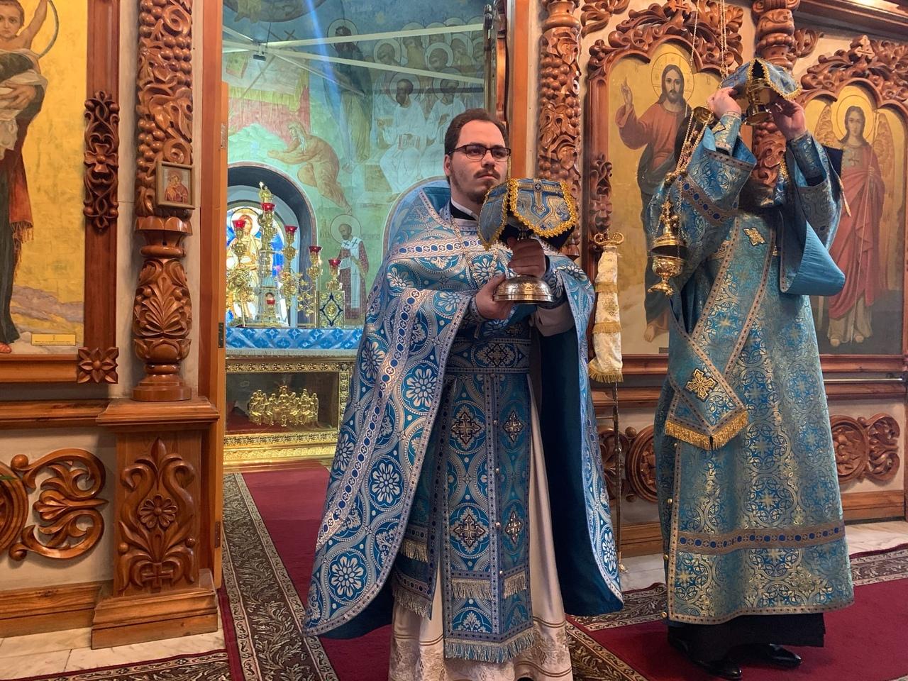 4.12.2019г.- праздник Введения во храм Пресвятой Владычицы нашей Богородицы и Приснодевы Марии
