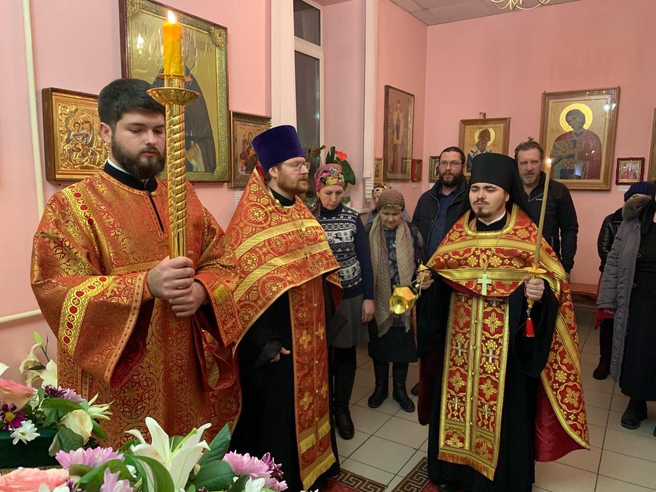 6.12.2019г.- канун дня памяти святой великомученицы Екатерины