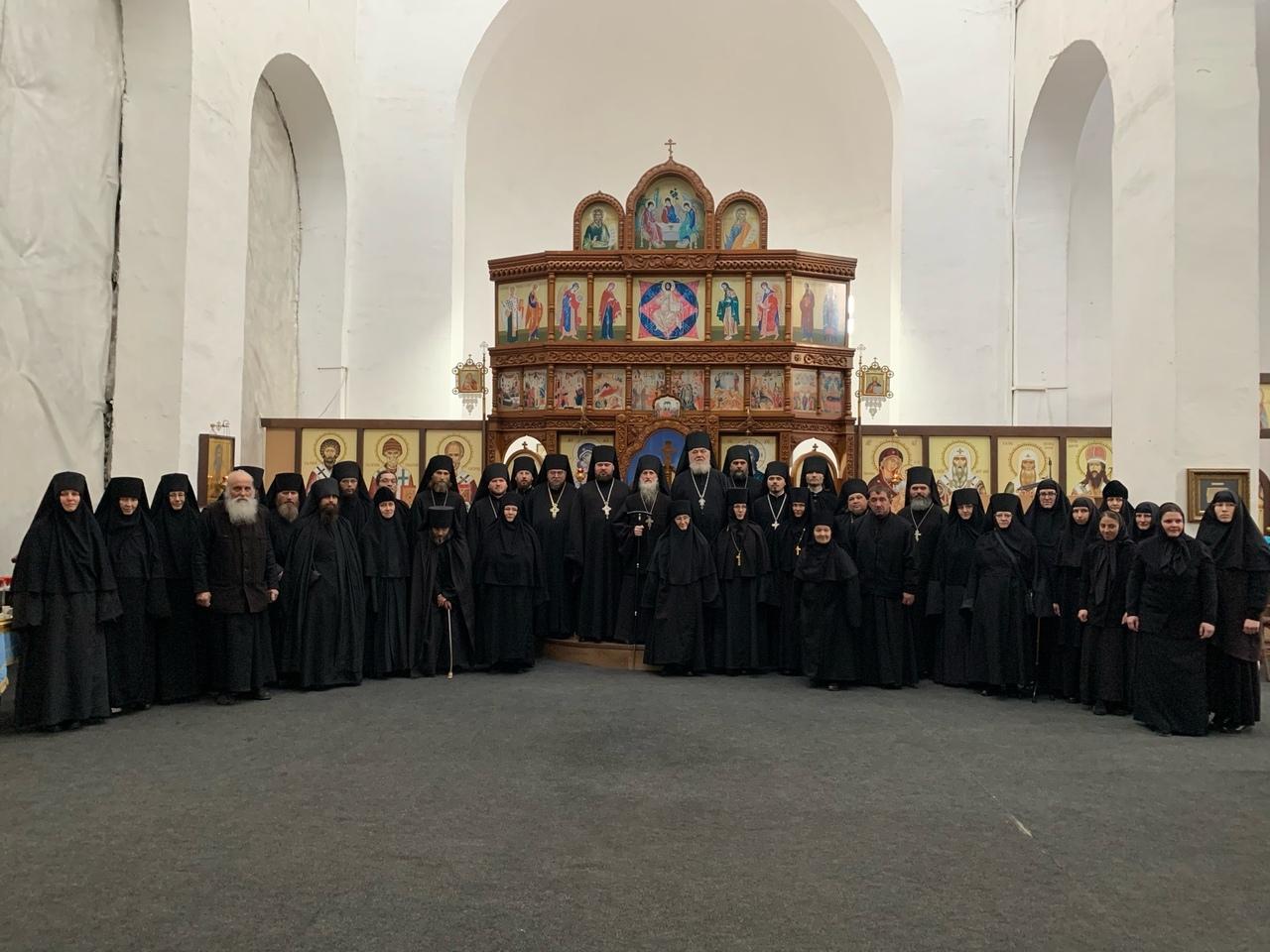 22.11.2019г.- конференция «Древние монашеские традиции в условиях современности»