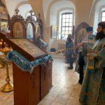 3 апреля 2020 года —  канун субботы 5-й седмицы Великого поста — Похвала Пресвятой Богородицы