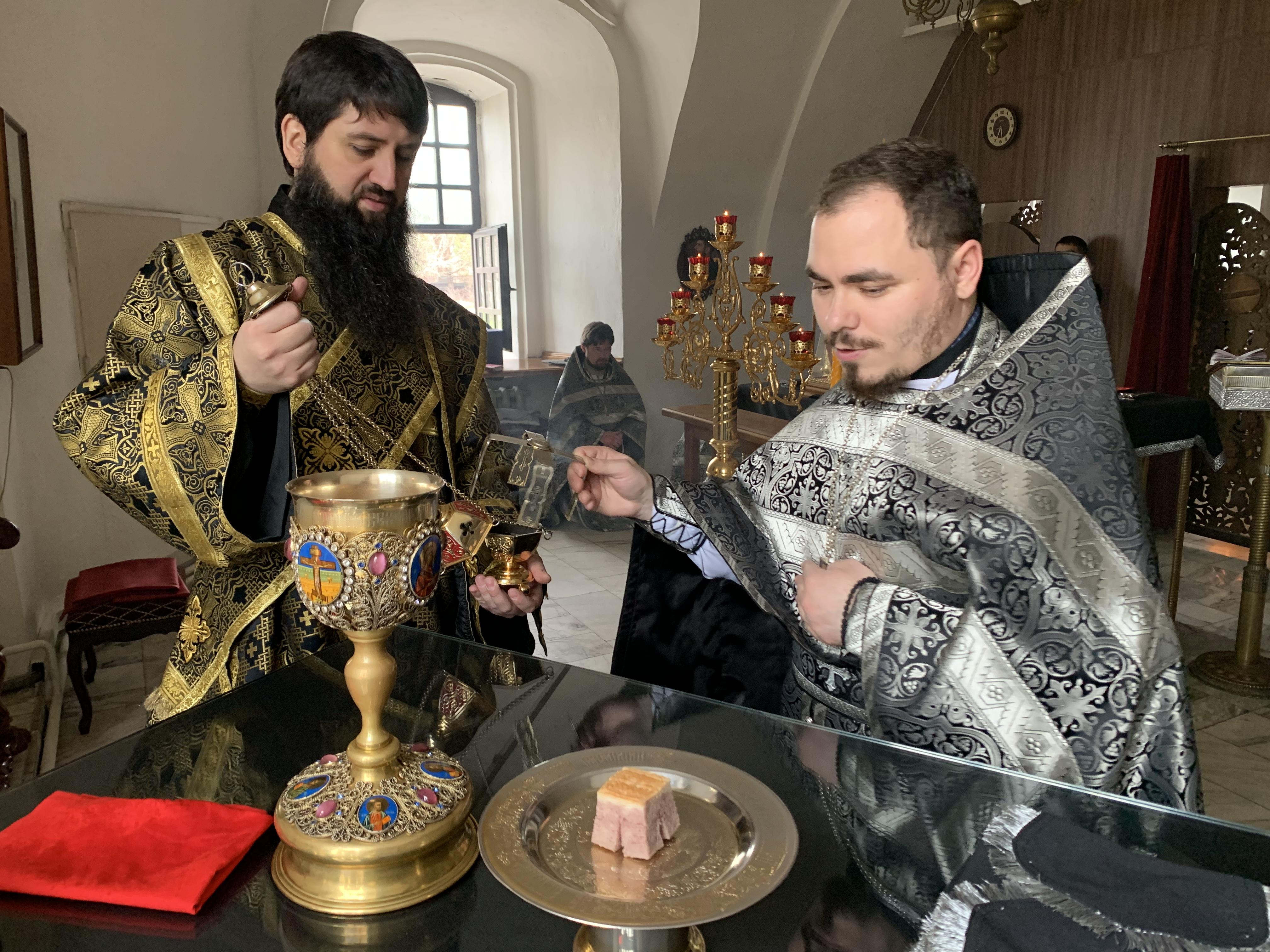 28 апреля 2021 год — Великая Среда. Литургия свт. Григория Двоеслова