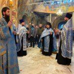 13 октября 2021 года — Всенощное бдение в канун праздника Покрова Пресвятой Владычицы нашей Богородицы и Приснодевы Марии