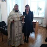 19 января 2020 год — чин великого освящения воды в Новокузнецком психо-неврологическом интернате