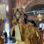 23.02.2020 год — Божественная литургия в Неделю о Страшном Суде.
