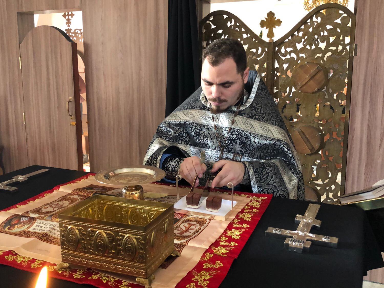 13.02.2019г.-литургия свт. Григория Двоеслова
