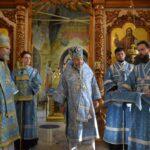 1 сентября 2021 год — Божественная литургия по случаю годовщины архиерейской хиротонии епископа Новокузнецкого и Таштагольского Владимира