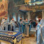 29 августа 2021 год — Всенощное бдение с чином Погребения Божией Матери.