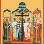 27 сентября 2021 года — Божественная литургия в праздник Воздвижения Честнаго и Животворящего Креста Господня